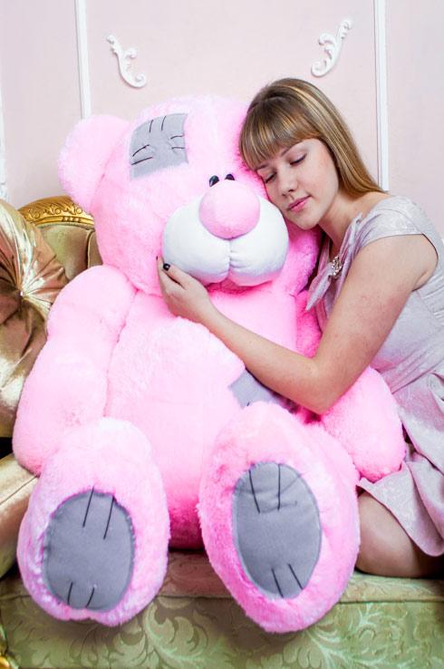 Розовый мишка Тэдди