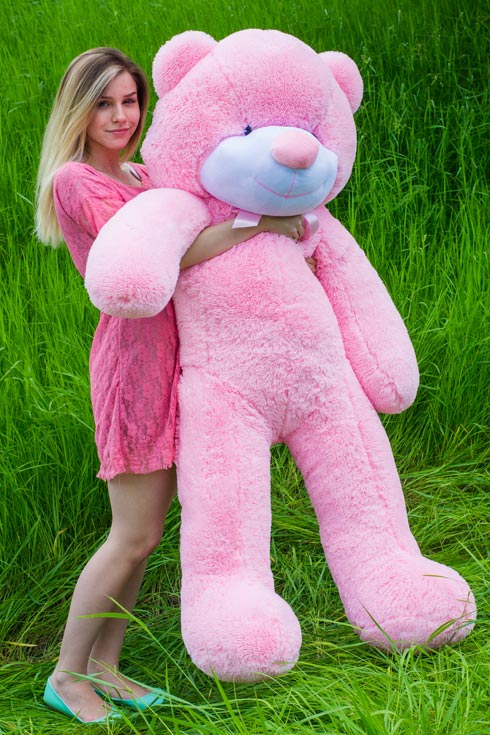 Розовый мишка ричард